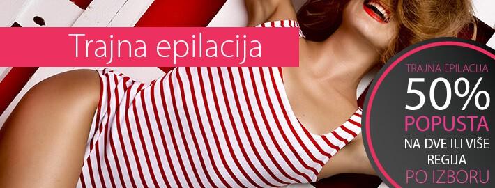 Trajna epilacija, Fotoepilacija, Trajna depilacija
