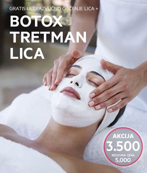 Botox tretman lica