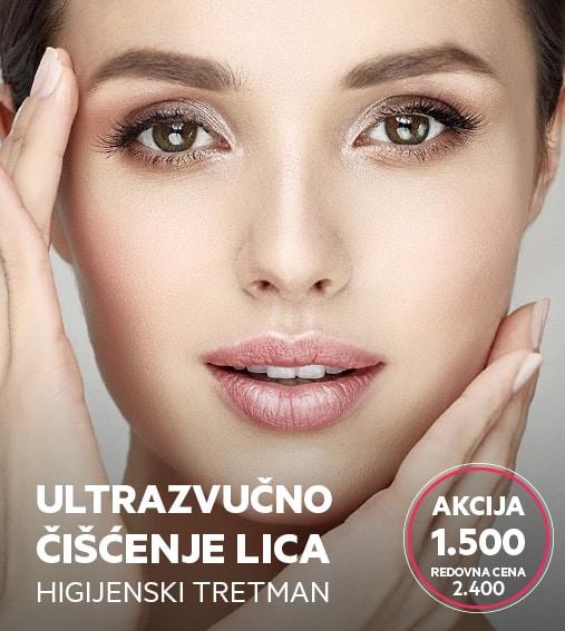 ultrazvucno ciscenje lice